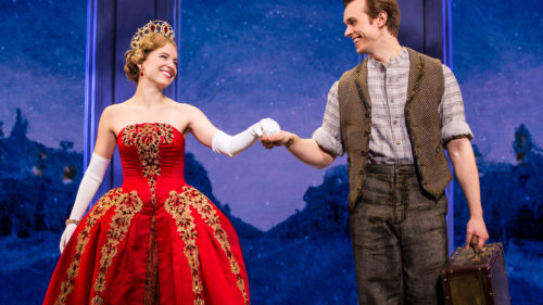 Christy Altomare and Zach Adkins in Anastasia.